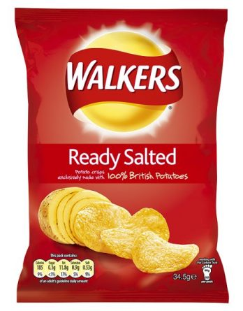 Ready Salted crisps