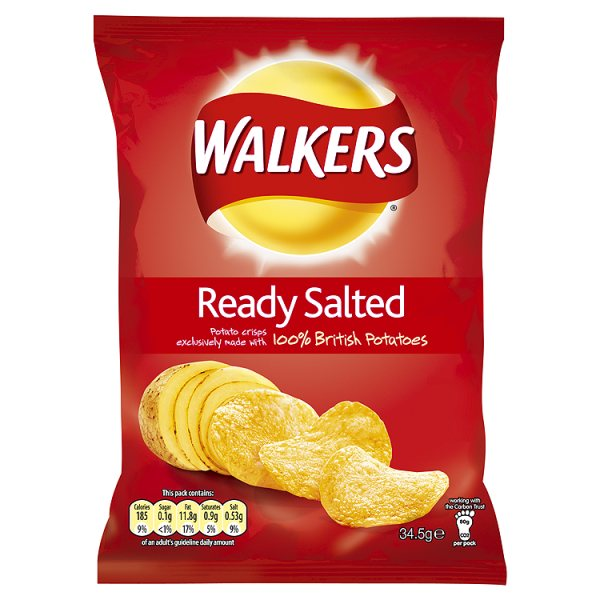 Ready Salted crisps 1